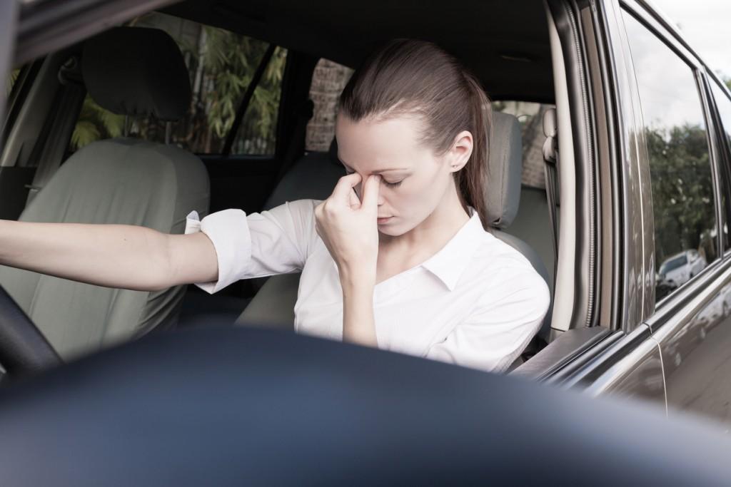 amaxofobia miedo a conducir coches
