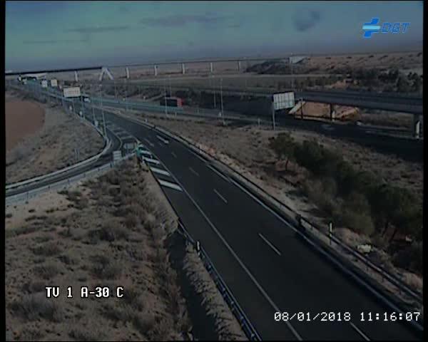 DGT cámara tráfico carretera