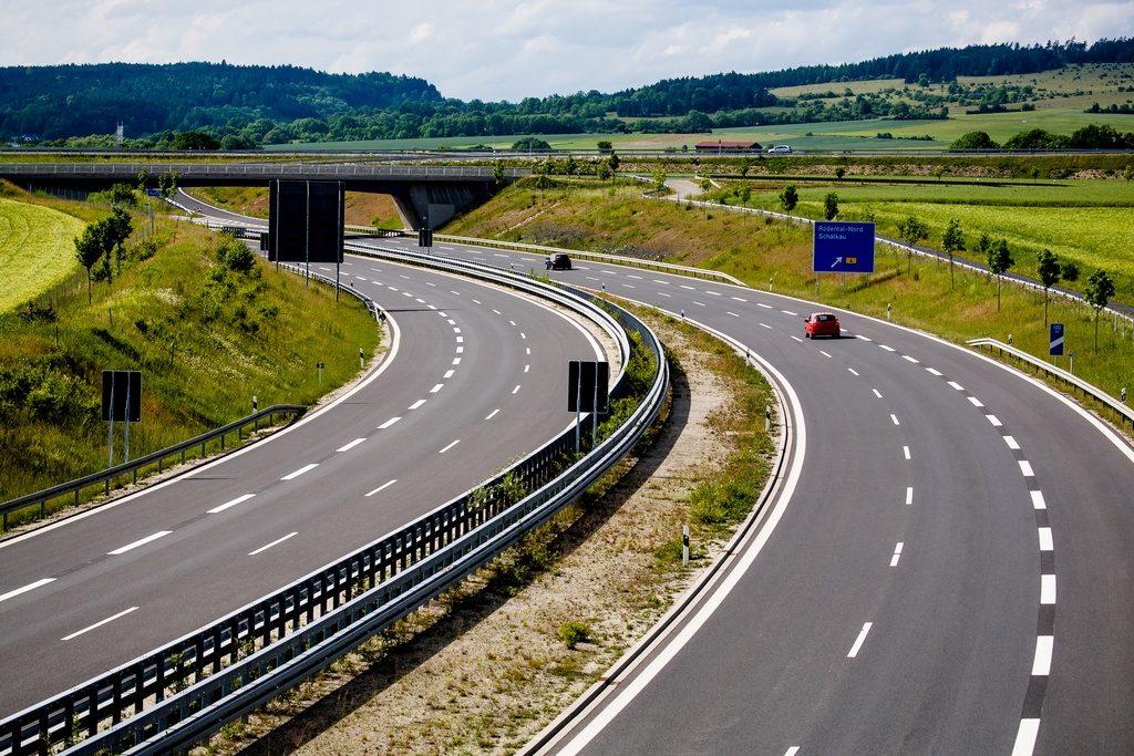 Autopista Autobahn en Alemania