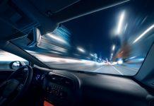 velocidad efecto túnel visión