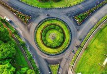 circular por rotondas