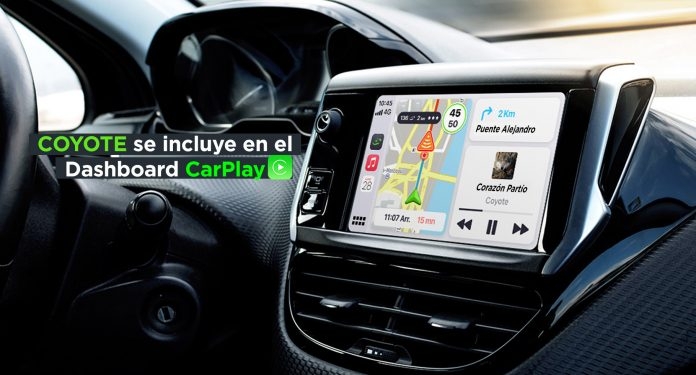 Coyote Carplay Dashboard