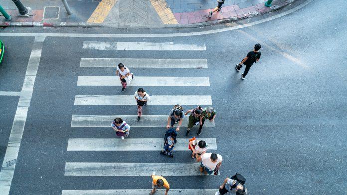 radares callejeros para peatones