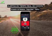 alertas en tiempo real de coyote